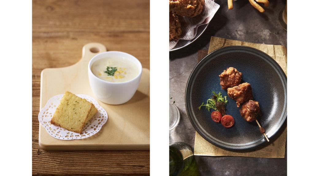 梨子Liz奶奶玉米濃湯和唐揚炸雞串