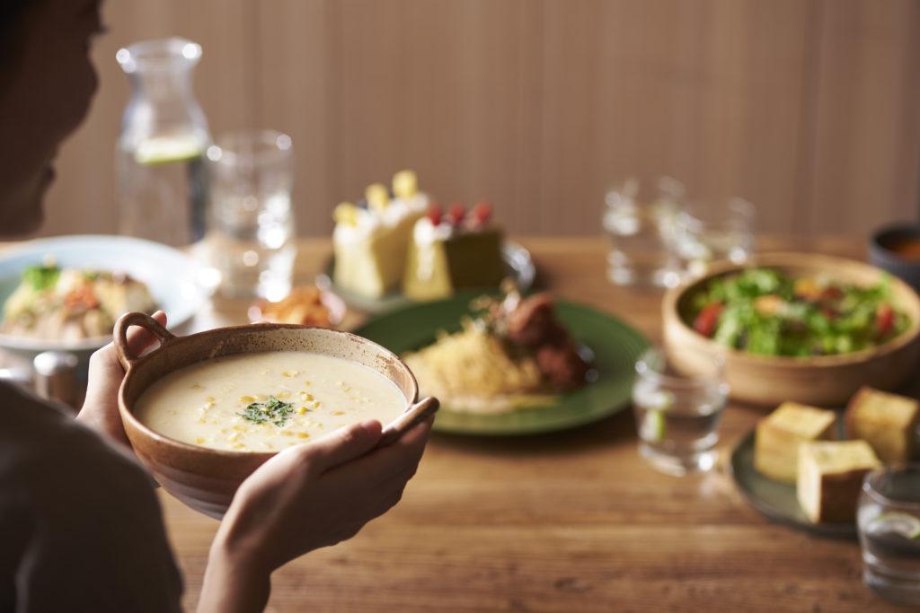 梨子咖啡館新形象-奶奶玉米濃湯